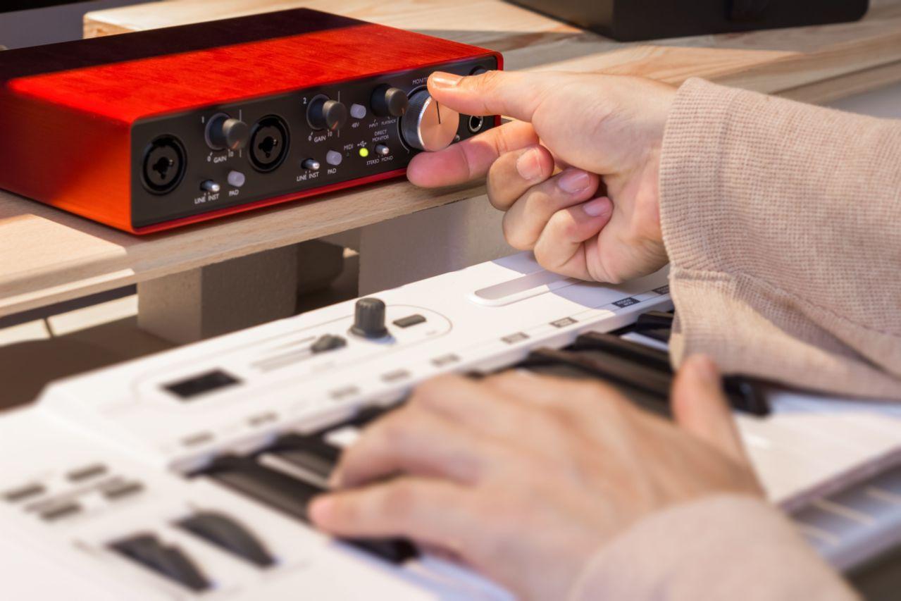 Как подключить миди клавиатуру к звуковой карте